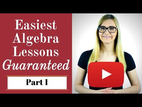 Basic Algebra Lessons for Beginners -- Get the FREE course November 1 - 2 ONLY