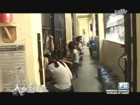 Inmates in Sta. Rosa Jail in Laguna