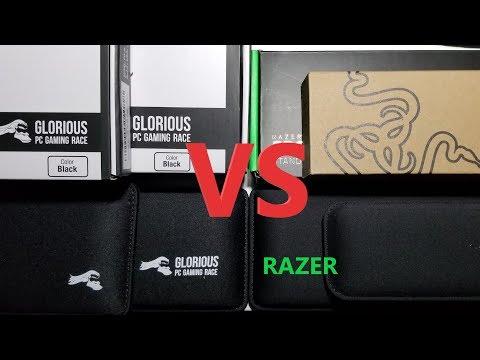 Razer/Glorious PC Wrist Pads (Unboxing/Compare)