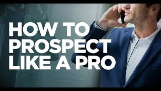 Gambar cover How to Prospect Like a Pro - Young Hustlers