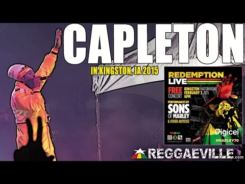 Capleton  in Kingston, Jamaica @ Bob Marley 70th Birthday 272015 MARLEY70