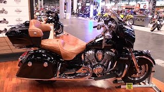 2015 Indian Roadmaster - Walkaround - 2014 New York Motorcycle Show