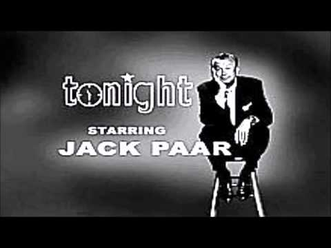 1960Jack Paar Walks Off The Tonight