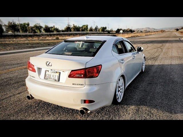 lexus is250 invidia q300 exhaust youtube