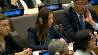 Carolina Popovici, Deputy Permanent Representative of Moldova's to the United Nations