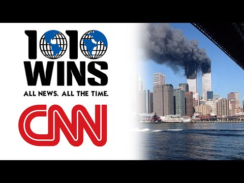 1010 WINS AM and CNN on Sept. 11