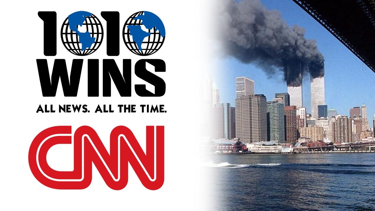 1010 WINS AM and CNN on Sept  11