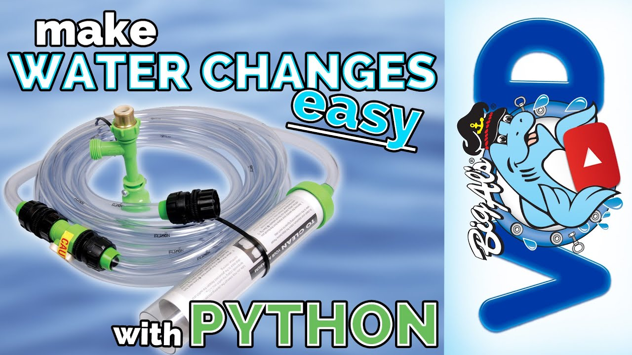 How To Use The Python No Spill Clean Fill Big Als Youtube Can A 13 Rheostat Control 15 Petsmart Water Pump Premium