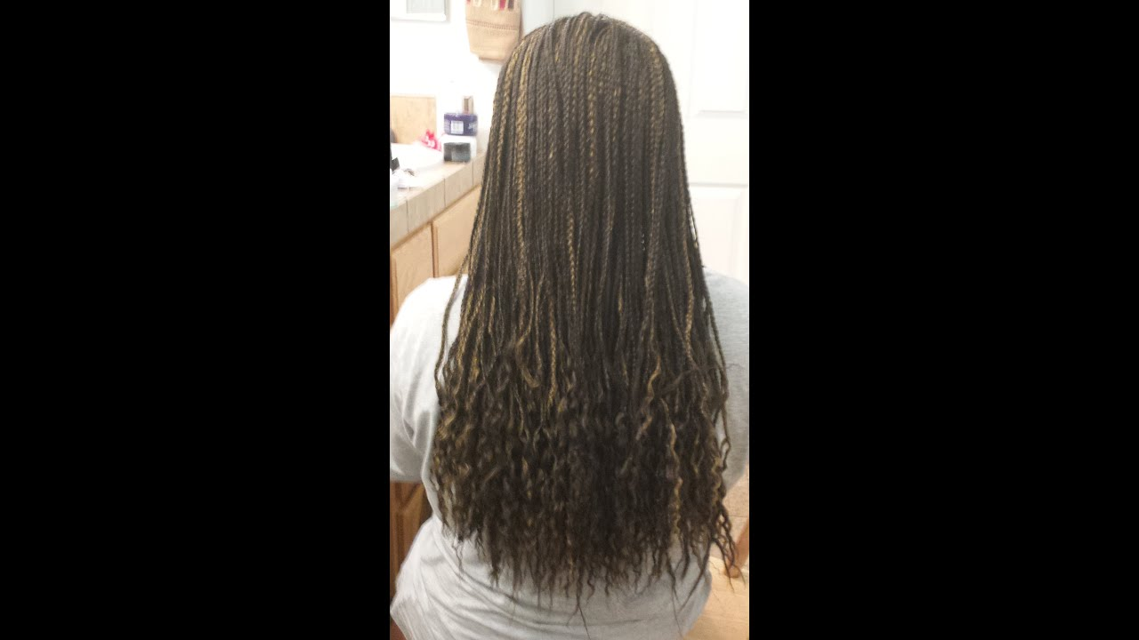 Crochet Individual Braids : Crochet Braids-Single Braids Style - YouTube