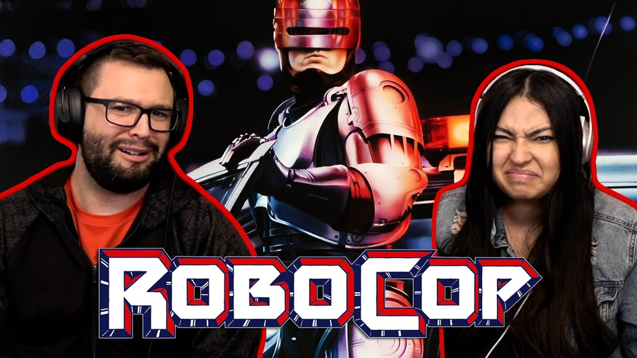 RoboCop (1987) First Time Watching! Movie Reaction!!