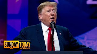 Trump Goes 'Off Script' At CPAC, Targeting Mueller, Sessions, Media | Sunday TODAY