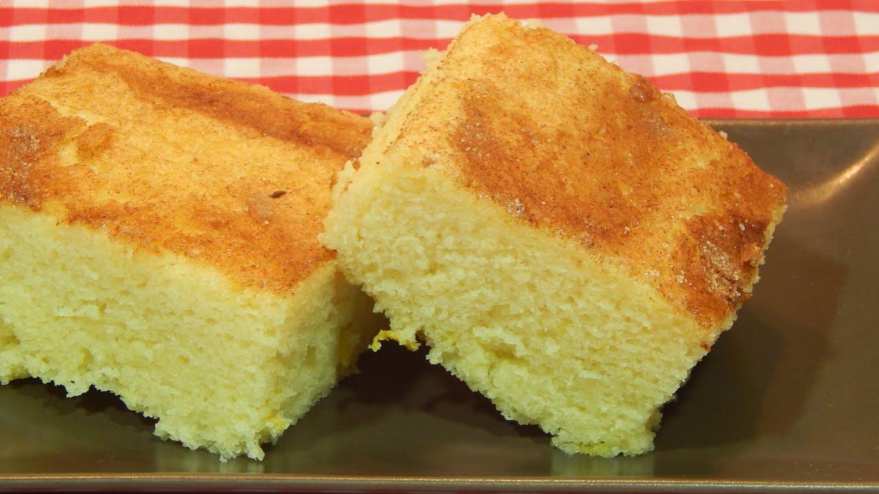 receta queque esponjoso facil