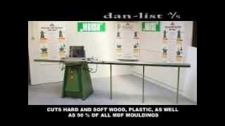 Morso EHXL Hydraulic Mitre Cutting Machine from Danlist, Denmark