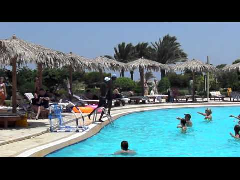 Egypt - Hurghada - Hilton Long Beach - aqua aerobic - 8/2O11