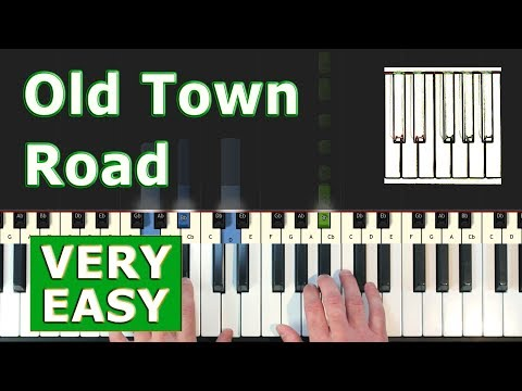 lil-nas-x---old-town-road---very-easy-piano-tutorial---sheet-music-(synthesia)