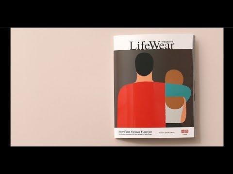 UNIQLO's Debut 'LifeWear' Magazine Celebrates Timeless Garments