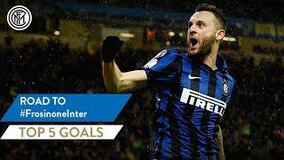 FROSINONE vs INTER | TOP 5 GOALS | Icardi, Lautaro, Brozovic and more...!