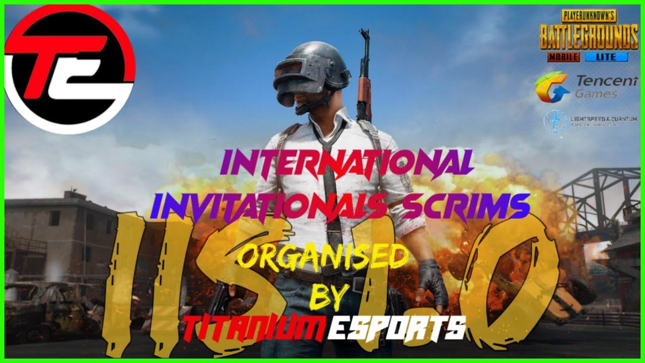 INTERNATIONAL INVITATIONAL SCRIMS▪︎PUBGML▪︎CONQUERING VERENGA▪︎