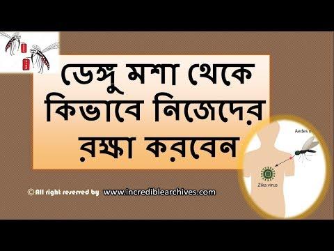 ডেঙ্গু মশা থেকে নিজেকে রক্ষা করুন ।| Protect yourself from Aedes Mosquito.