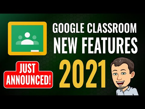 New Google Classroom Features 🚨JUST ANNOUNCED