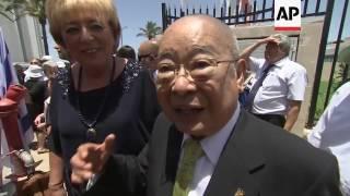 Israeli town honours WWII Japanese diplomat