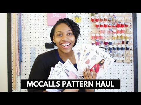 McCalls Pattern Haul