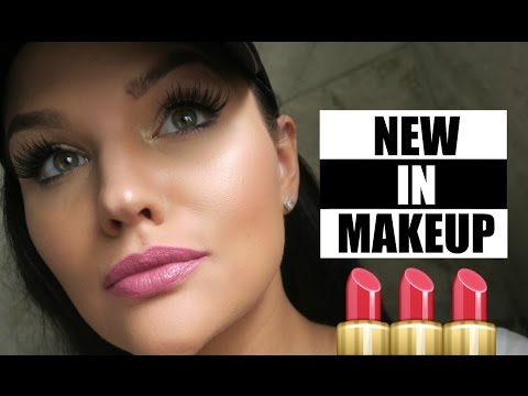 NEW IN MAKEUP HAUL - Urban Decay, Too Faced, Bare Minerals, Cover Girl, L'Oreal, NYX - 동영상
