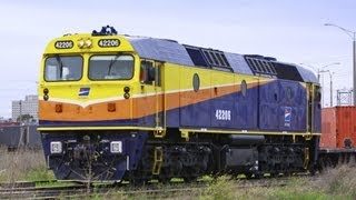 Another Day at Dynon Rail Yard - Australian Trains, Victoria