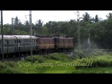 Full journey compilation from Kolkata to seashore Digha in w