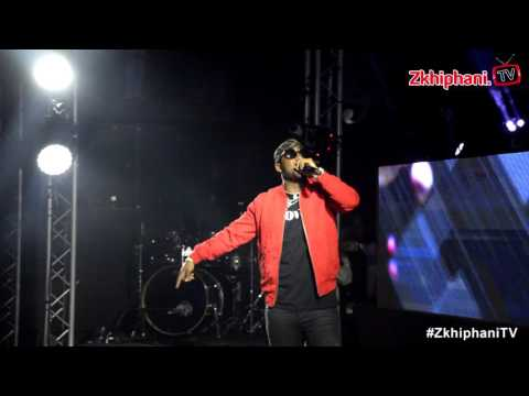 Cassper Nyovest performs SUPERMAN