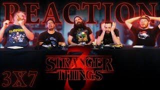 """Stranger Things 3x7 REACTION!! """"Chapter Seven: The Bite"""""""