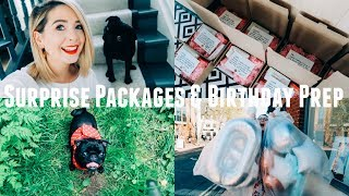 SURPRISE PACKAGES & BIRTHDAY PREP