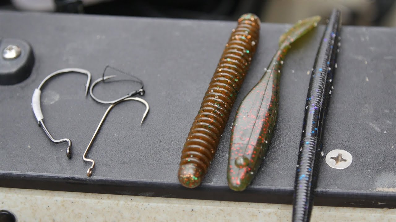 fishing tip: why soft-plastic 'stickbaits' rock for spring bass, Soft Baits