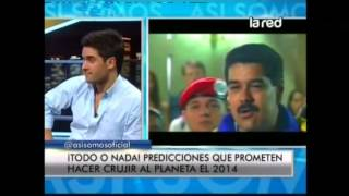 Salfate revela las predicciones que prometen hacer crujir al planeta el 2014