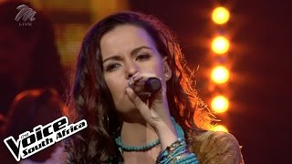 "nolene sings ""just a kiss"" live round 1 the voice sa"