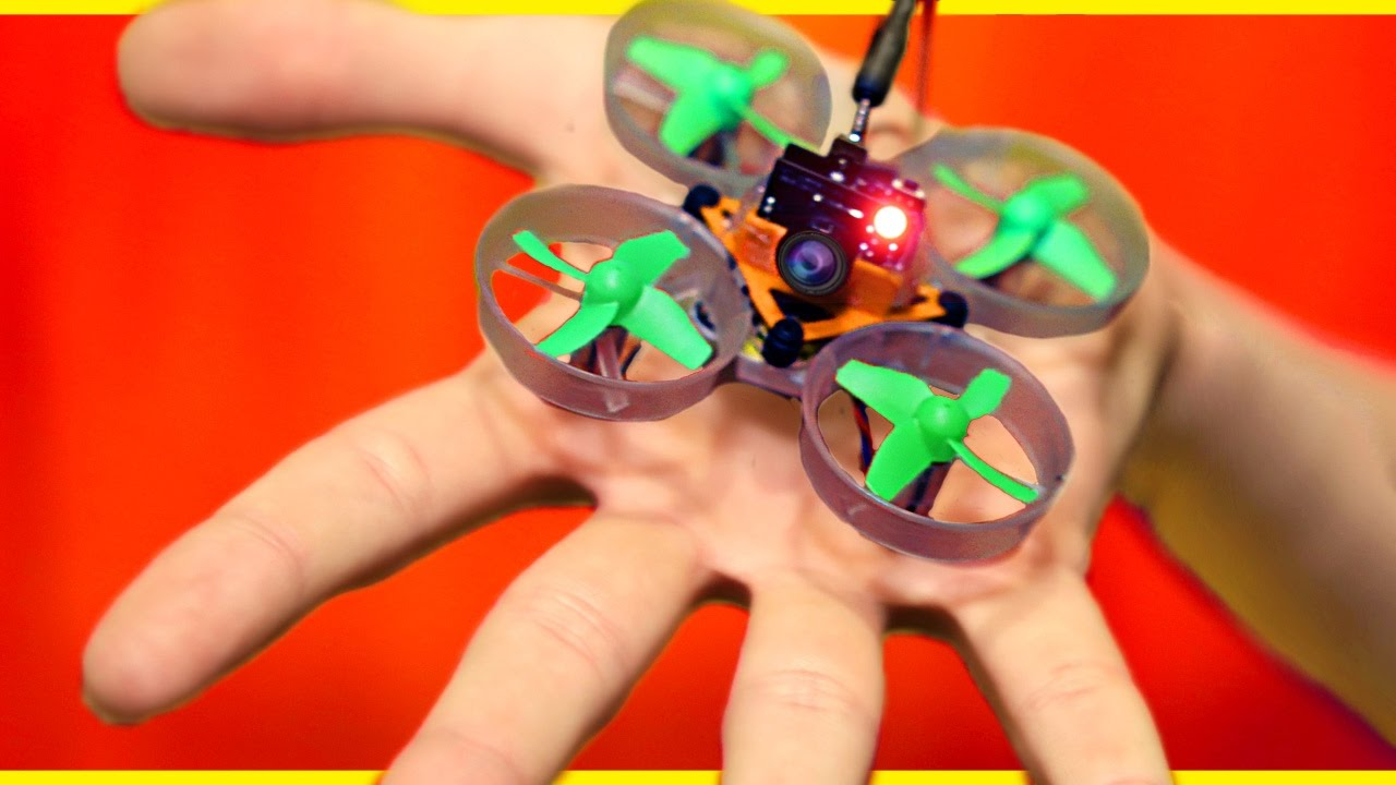 Worlds smallest diy spy drone youtube solutioingenieria Image collections