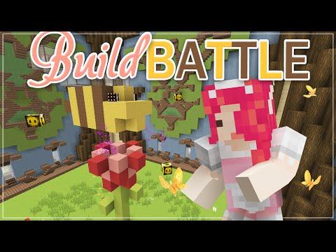 Minecraft BUILD BATTLE ♡ BEES!