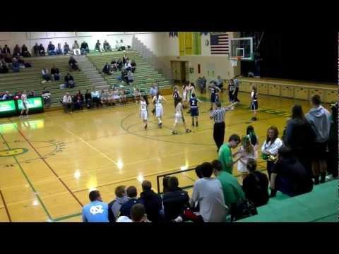BBHS Girls Basketball vs Nathan Hale 02-09-2012 Q3