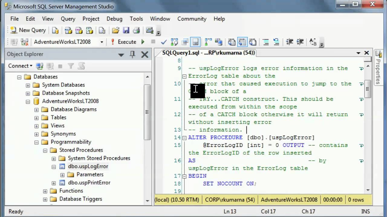 Sql Server Interview Questions What Are Stored Procedures Advantages