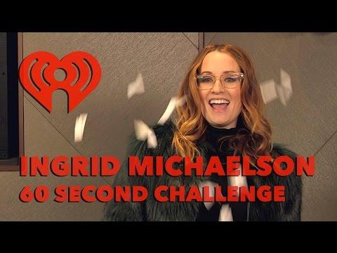 Ingrid Michaelson 60 Second Challenge Interview | Artist Challenge