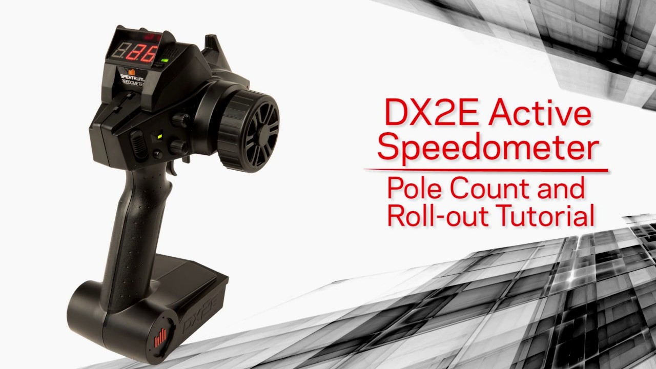 Download DX2e Active Speedometer Setup - Setting Pole Count and Roll-Out