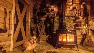 Fireplace Transformation, Cast Iron Cooking | Wilderness Survival Shelter