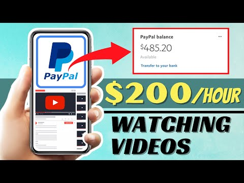 How To Make PayPal Money Online For Watching Videos (2021) | Earn $200 Per Hour