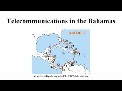Telecommunications in the Bahamas