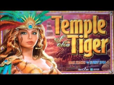 Aristocrat's Temple of the Tiger slot machine - 3 bonus tries