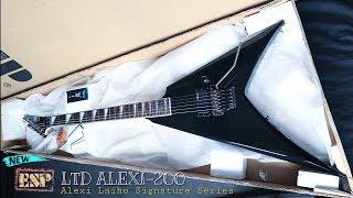 UNBOXING!! ESP LTD Alexi-200 Black