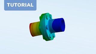 CADFEM Tutorial Nr. 4 - Berechnung einer Baugruppe mit Schrauben mit ANSYS®Workbench™