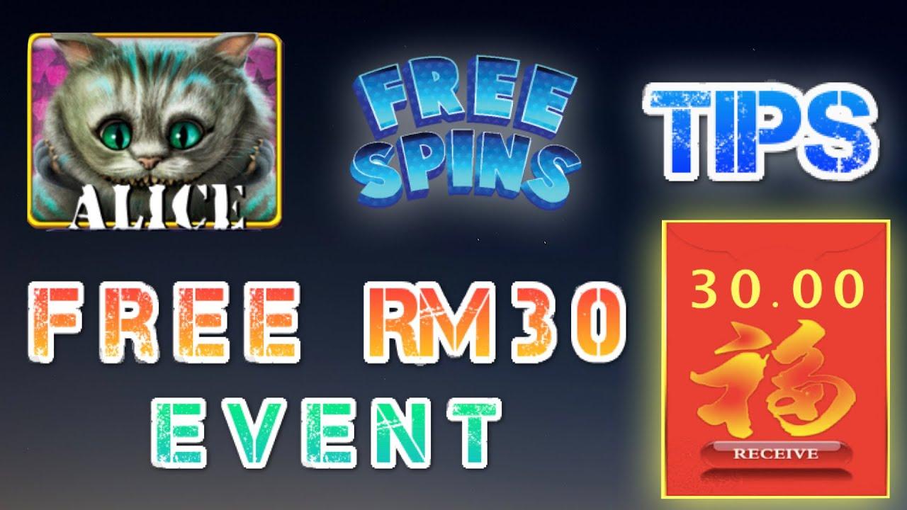Alice Tips + Free RM30 Kredit   XE88   918Kiss   FREESPIN   Jackpot   Bigwin   Menang