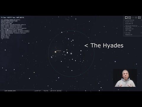 Eyes on the Sky: The Hyades and Comet 45P/Honda-Mrkos-Pajdusakova