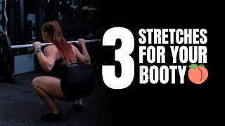 3 Glute Stretches - Beginner to Advanced | Beth Lavis Fitness